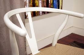 amazon com baxton studio wood wishbone y chair ivory chairs