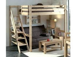 lit en hauteur avec canapé lit en hauteur 2 places lit mezzanine 2 places avec canape lit