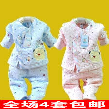 free shipping newborn thermal set cotton 100 cotton