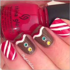playful polishes twelve days of christmas nail art food