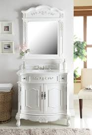 Bathroom Vanities And Mirrors Sets 36 Classic Style Antique White Fairmont Bathroom Sink Vanity