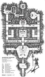 Fantasy Floor Plans One Page Dungeon Contest 2nd Place Winner