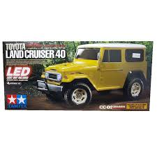 jeep tamiya tamiya u2013 1 10 scale u2013 toyota land cruiser 40 series cc01 brushed