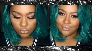 best hair for wide nose how i contour a big round wide nose tutorial grrrcedes youtube