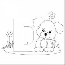 surprising tracing letter coloring pages with letter d coloring