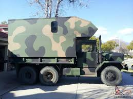 military trailer camper rv military truck with camper