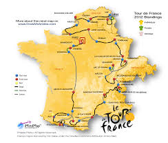 Toulouse France Map by Tour De France Map Recana Masana