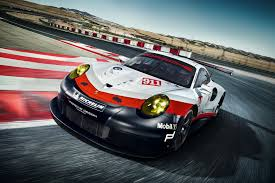 porsche car 2017 porsche unveils new mid engined 911 rsr race car evo