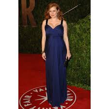 Vanity Fair China Adams Blue Formal Dress At 2010 Vanity Fair Oscar Party Red Carpet