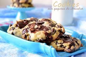 recette de cuisine cookies recette cookies aux pépites de chocolat le cuisine de samar