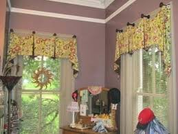 kitchen window valance ideas window valances ideas no sew rolled window valance bay window