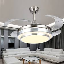 Ceiling Fan And Chandelier Lighting Modern White Sofa Set And Coffee Table With Black Out