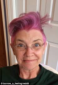 older men getting mohawk haircuts videos mother with breast cancer shaves her hair into a bright pink
