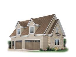 Gabled Dormer Lizbeth Three Car Garage Plan 113d 6029 House Plans And More