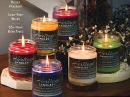 Home Interior Fundraiser Heritage Candles 8oz Jar Collection Great Fundraising Ideas I