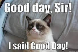 Good Day Sir Meme - good day sir quickmeme
