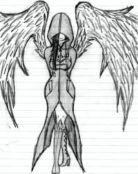 gallery easy angel pencil drawing drawing art gallery