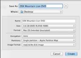 format dvd r mac how to create a bootable mountain lion os x 10 8 installation dvd