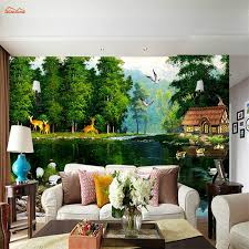 3d Wallpaper For Bedroom by Online Buy Wholesale Photo Wallpaper Forest From China Photo