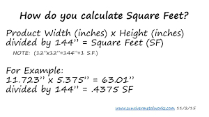 square feet equation jennarocca