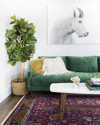 Green Sofa Living Room The Trend For 2017 Stylish Emerald Green Sofas Apartment