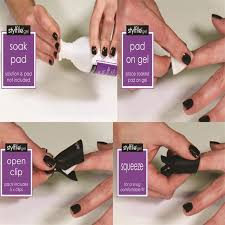 reusable gel polish remover clips stylfile nail clips nail
