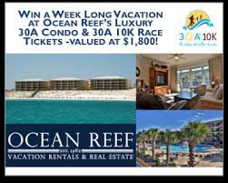 30a 10k and run win a free vacation this thanksgiving