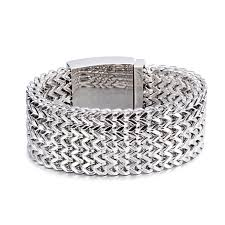stainless silver bracelet images Punk rock heavy silver gold tone stainless steel bracelet chain jpg