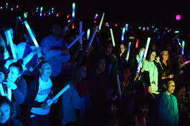 glow show glow show and club carnival raise spirits for bell baron news