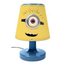 minions kids bedroom lighting night light lamp bedside light