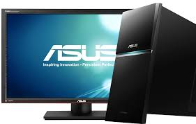 Desk Top Computers On Sale Asus Desktop Pc G10 Hides Integrated Ups For Power Protection
