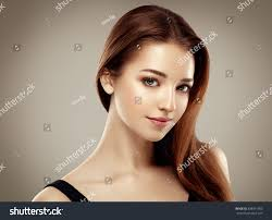 amazing woman portrait beautiful model stock photo 398971693
