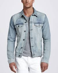 Light Denim Jacket Brand Blue Owen Light Wash Denim Jacket