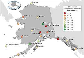 Map Of Juneau Alaska by 2016 Annual Statewide Summary Alaska Climate Research Center