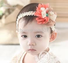 toddler headbands wholesale baby hair toddler headband children ribbon gauze flowers