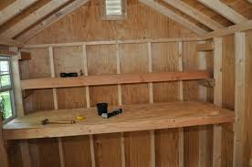 How To Build Wooden Shelf Supports by How To Build Shed Storage Shelves One Project Closer