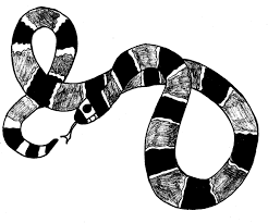 snake coloring pages 3 coloring kids