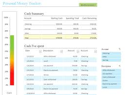 Tracker Excel Template Personal Tracker Office Templates