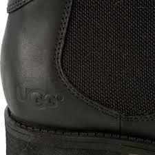 s ugg australia light grey bonham chelsea boots ankle boots ugg w bonham 1013893 w blk elastic sides high