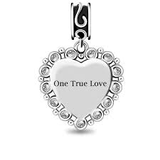 engraved charms personalized heart photo charm with fit engraved charms
