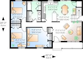 front to back split level house plans 1176 sq ft eliminate one back bedroom for back exit downstairs