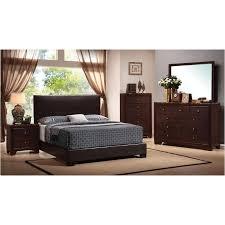 Traditional Cherry Bedroom Furniture - 300261qb1 coaster furniture conner bedroom queen platform bed