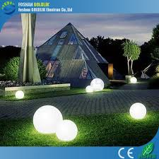 outdoor hanging garden light rechargeable led glow balls gkb
