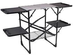 outdoor cooking prep table gci outdoor slim fold cook station review outdoorgearlab