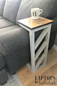 Diy Round End Table by Best 25 C Table Ideas On Pinterest Used Coffee Tables