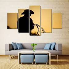 canvas setting sun print wall decor for home decoration 25cm x
