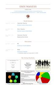 Student Teacher Resume Samples by Classroom Teacher Resume Samples Visualcv Resume Samples Database