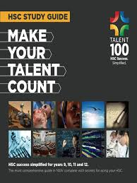 talent 100 hsc study guide test assessment understanding
