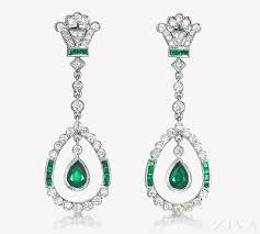 emerald drop earrings emerald drop earrings