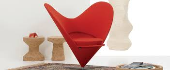Cone Chair Verner Panton Heart Chair Leather Fabric Cashmere Furniture